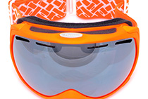 Snow Goggles (Orange)