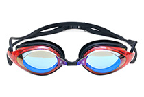 Swimming Goggles (Red)
