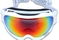 Snow Goggles (White)